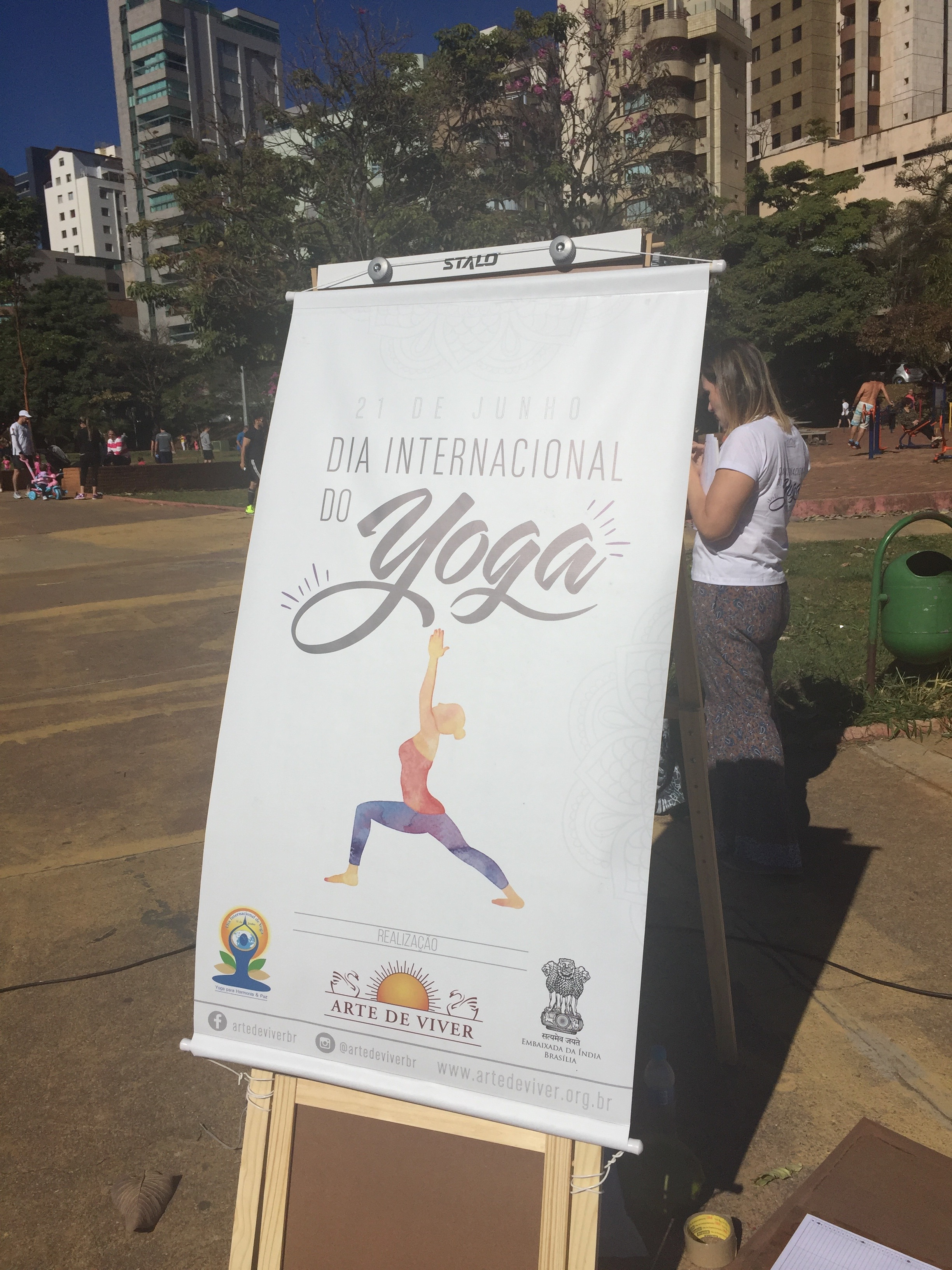 Dia Internacional do Yoga, 2016